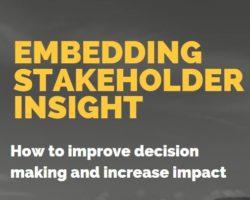 Square stakeholder insight banner